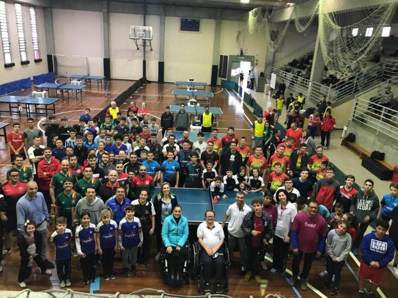 Colégio Sagrado sedia maior evento de Tênis de Mesa do RS