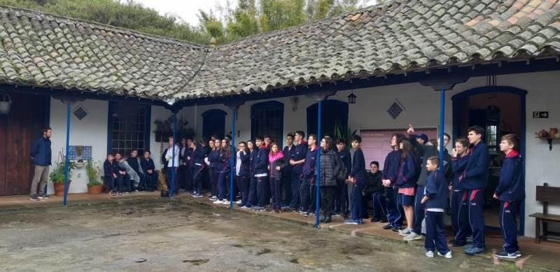 Turmas dos 8ºs anos do Sagrado BG, realizam Aula de Campo em Pelotas