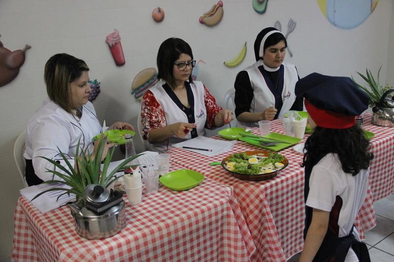 Educandos do 1º ano participam de Master Chef Mirim durante Projeto 2020