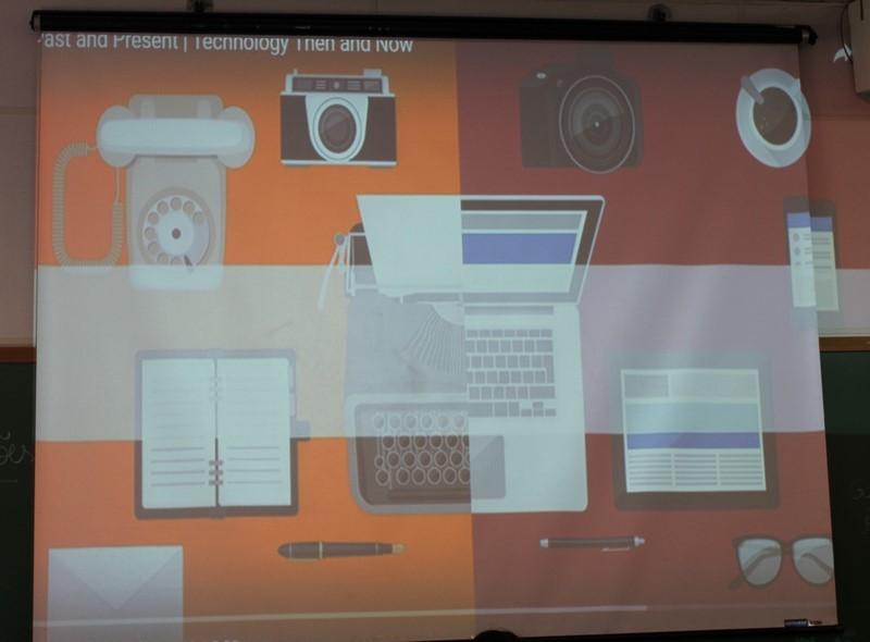 Rotacionando conhecimento – Technology of the future