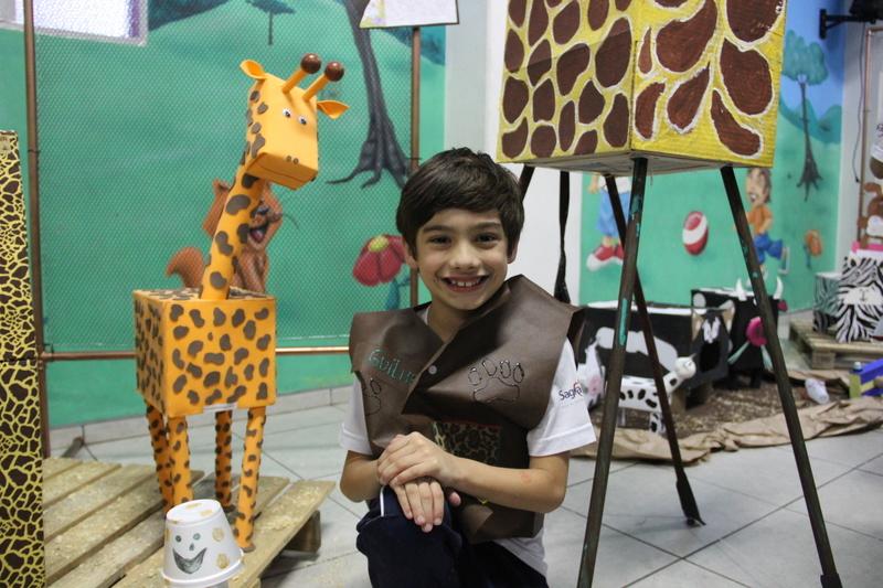 Educandos do 2º ano tornam-se Guias de Safari no encerramento do Projeto 2020