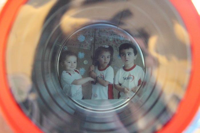 Circuito Sensorial, uma divertida experiência do Infantil II