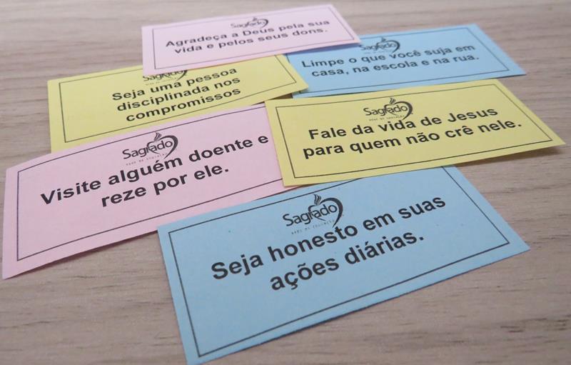 Serviço de Pastoral Escolar do SAGRADO PG desafia a Comunidade Educacional a realizar atos missionários