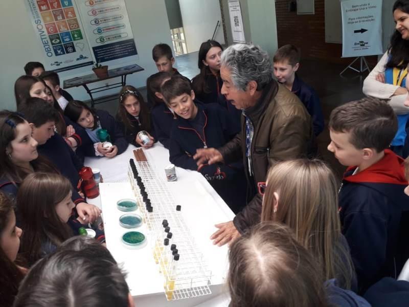 Educandos dos 5ºs anos participam do Projeto Embrapa na Escola