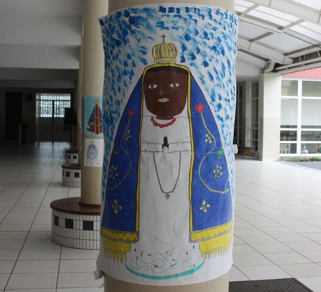 Em outubro, Serviço de Pastoral Escolar realiza ações para homenagem à Nossa Senhora de Aparecida