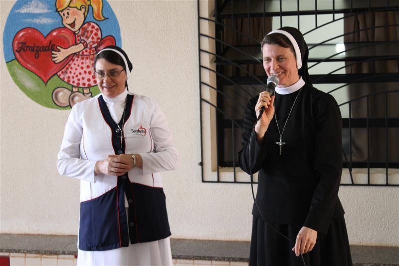 Visita da Superiora Provincial Ir. Carmem Lourdes Cestonaro
