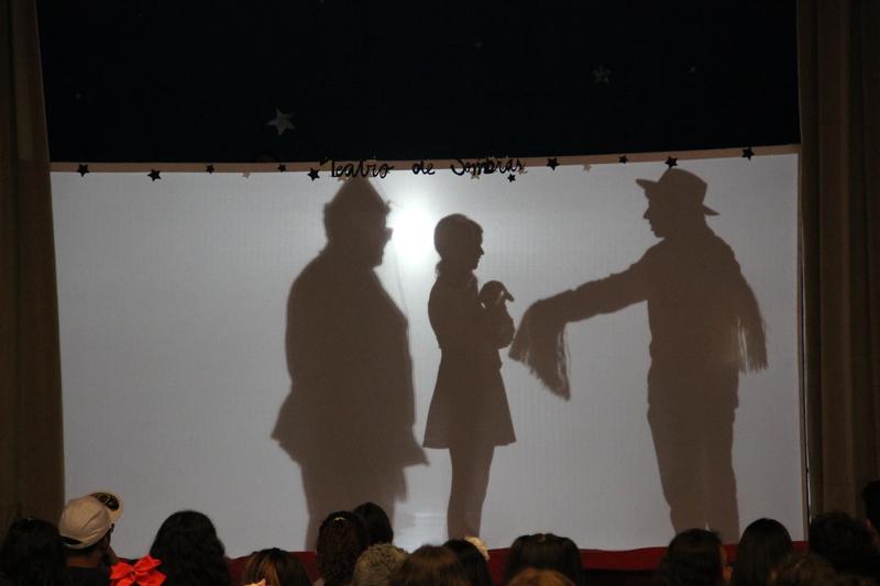 Ano Literário: educandos do Fundamental II apresentam Teatro de Sombras com clássicos da literatura mundial