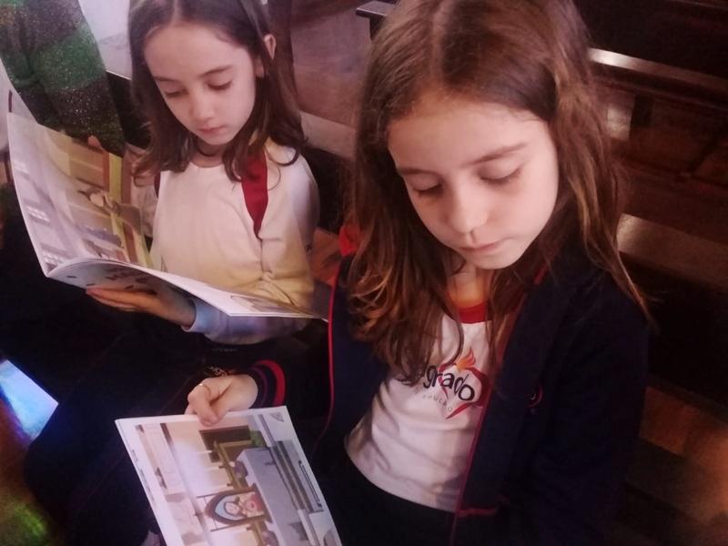 No Momento Pastoral de Novembro, educandos realizam atividades com base na vida da Bem-Aventurada Clélia Merloni