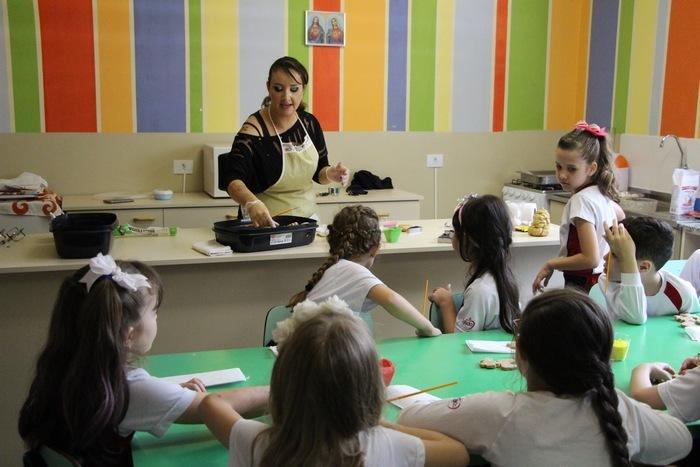 Na Escola com o Chef