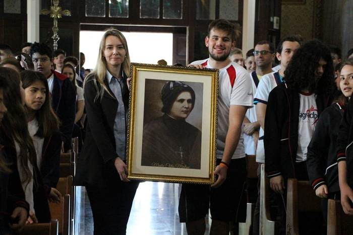Colégio Imaculada celebra o dia da Bem-Aventurada Clélia Merloni