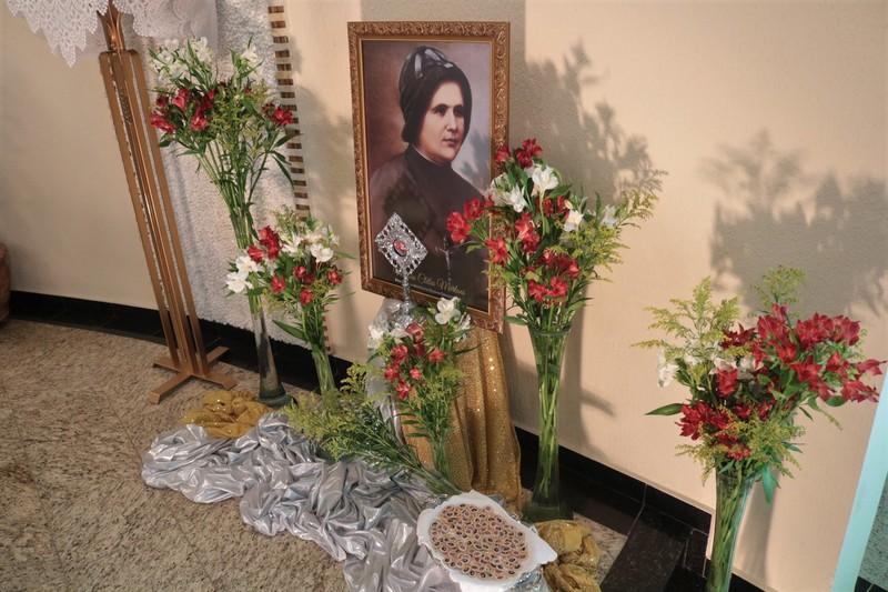 Comemoração em homenagem ao dia de Madre Clélia