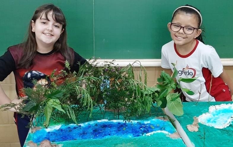 4ºs anos aprendem sobre as Formas de Relevo através da Cultura Maker