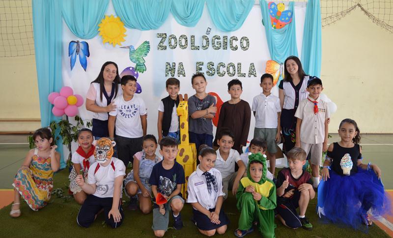 "2º Ano – Projeto ""Zoológico na Escola"""