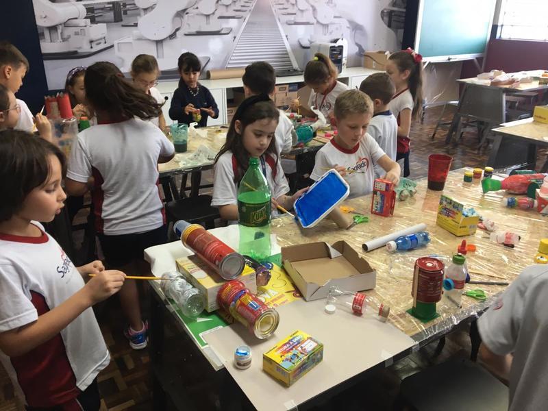No Espaço Maker diversão e aprendizagem caminham juntas