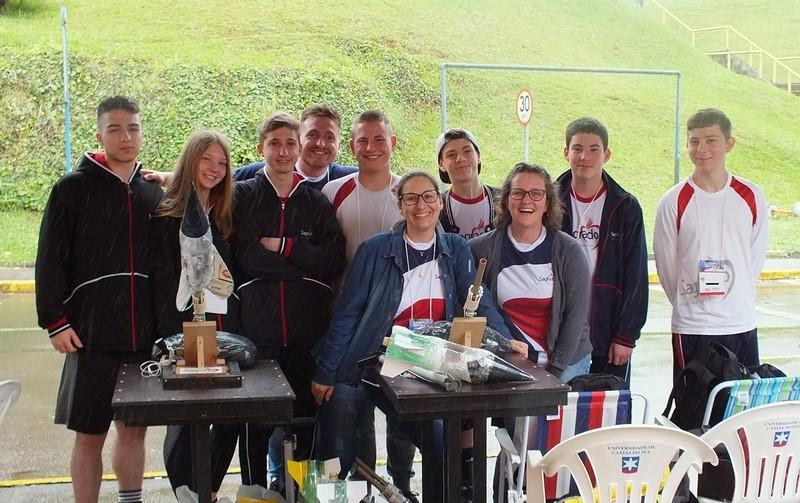 Conhecimento e diversão – 4ª Competição Regional de Foguetes