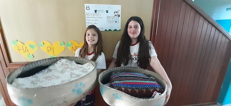 Educandas realizam projeto social – Caminha Solidária