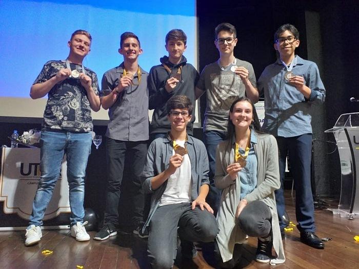 Educandos do Colégio Imaculada Conceição são premiados em Olimpíadas Nacionais