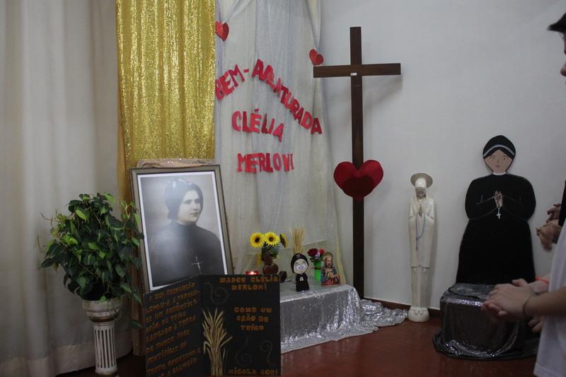 Celebração em Homenagem a Bem-Aventurada Clélia Merloni