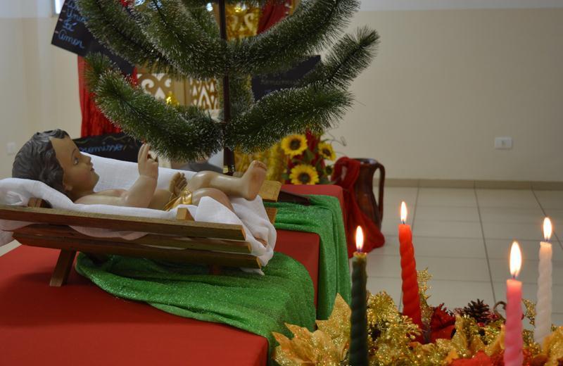 Educadores comemoram o Natal no Colégio Coração de Jesus