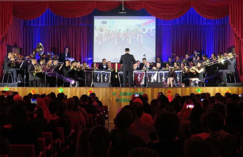 Banda Marcial apresenta V Concerto Natalino