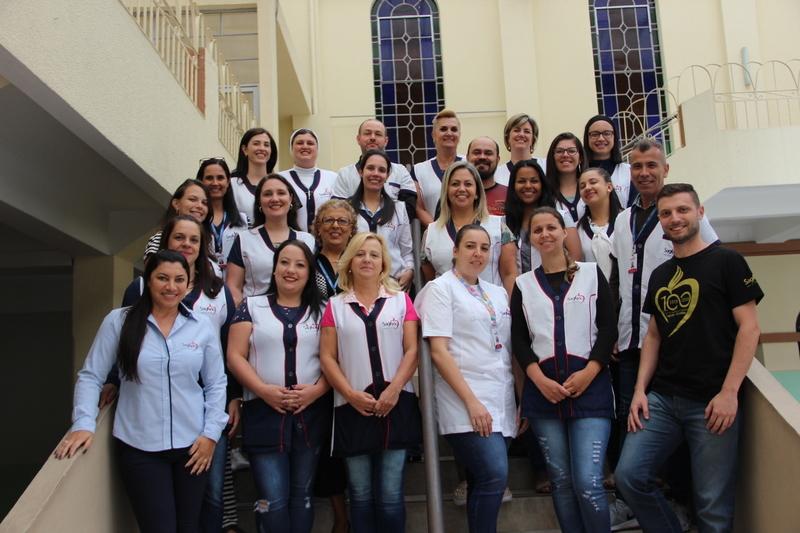 Educadores das equipes Pedagógica e Administrativa retornam aos trabalhos no Colégio Sagrado Coração de Jesus