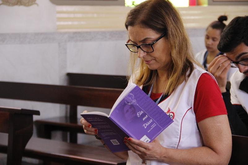 Educadores encerram Semana Pedagógica com retiro espiritual inspirado nas cartas de Madre Clélia