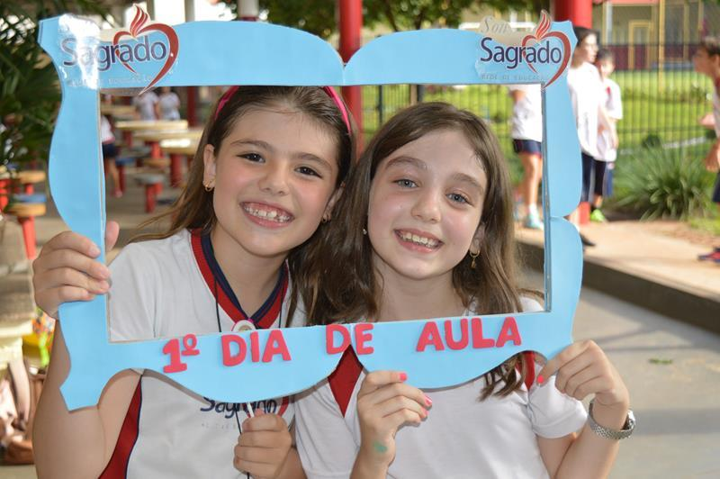Primeiro Dia de Aula para Educação Infantil e  1º ao 5º Ano
