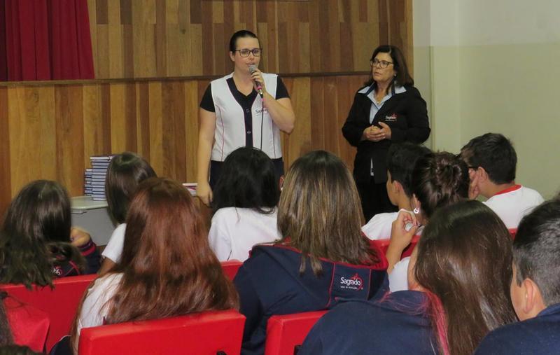 Educandos recebem importantes orientações dos Serviços Pedagógicos