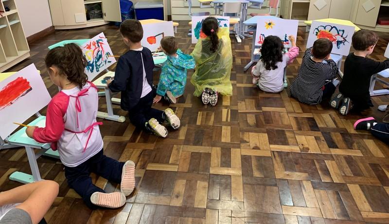 Arte Abstrata no Infantil IV 1