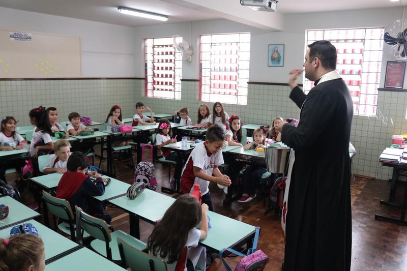 Bênção dos Ambientes da Unidade Educacional