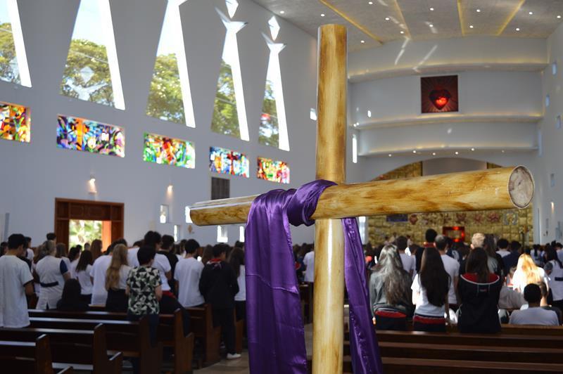 Missa de 1ª Sexta-feira do mês, no Início da Quaresma
