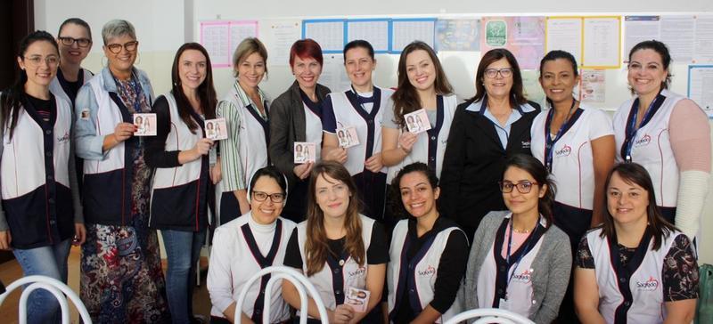 SAGRADO PG parabeniza as educadoras pelo Dia Internacional da Mulher