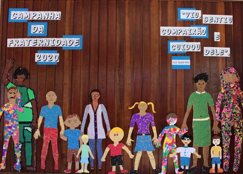 Apresentando a Campanha da Fraternidade 2020 na Escola São Domingos