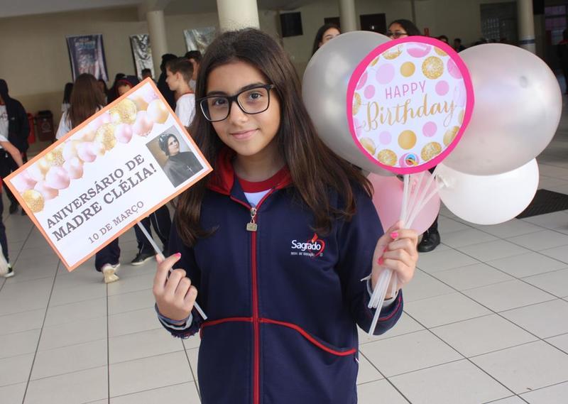 SAGRADO PG celebra com alegria o dia do aniversário da Bem-Aventurada Clélia Merloni