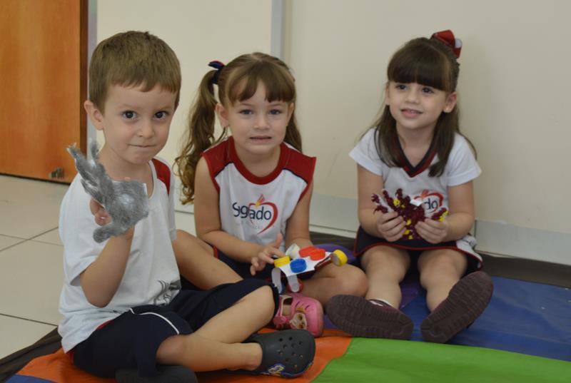 Infantil III - Painel sensorial