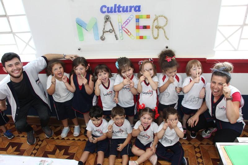 Cultura Maker – Engenhocas a todo vapor nas construções do Infantil III