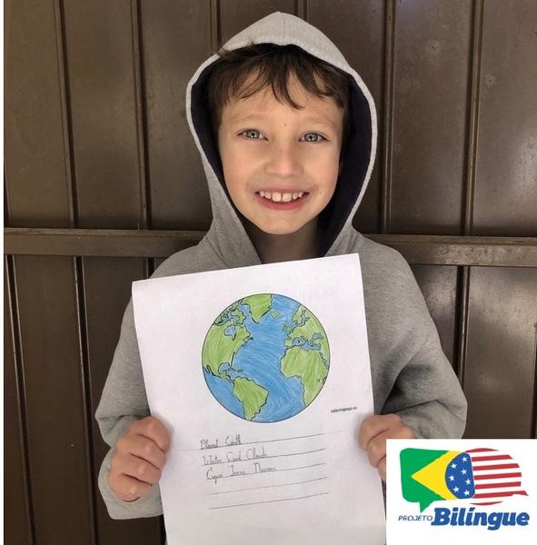 SAGRADO BILÍNGUE EM CASA: educandos exploram a Língua Inglesa no desenvolvimento de atividades