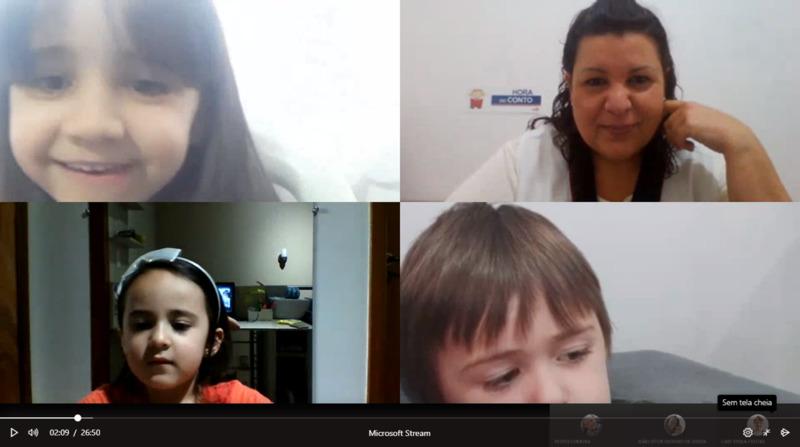 Hora do Conto com o Infantil IV