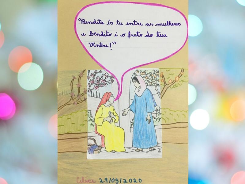 A releitura da visitação de Maria à sua prima Isabel
