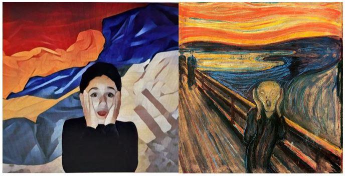Educandos da Escola São Domingos realizam releituras de obras de arte
