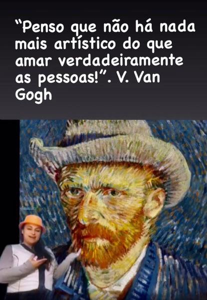 Releitura - Van Gogh Chapéu
