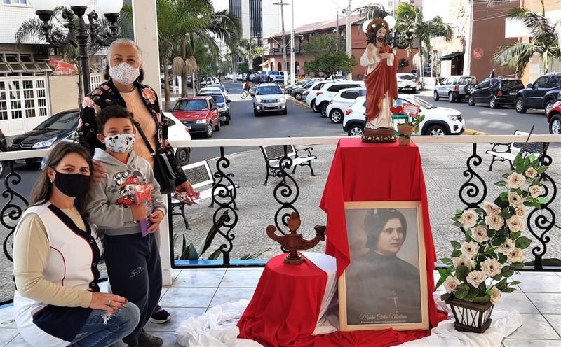 Celebrando o Coração de Jesus no coração da cidade de Torres