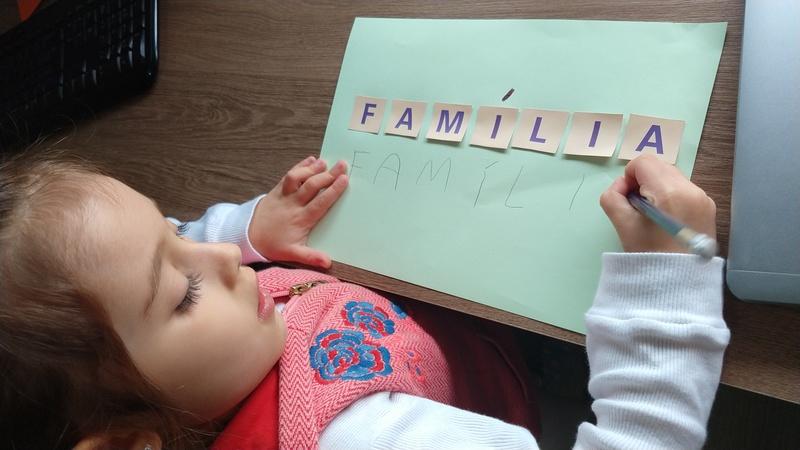 As mãozinhas e as famílias