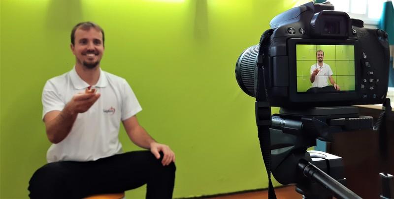 Serviço de Integração Social realiza vídeos com jogos lúdicos para os educandos