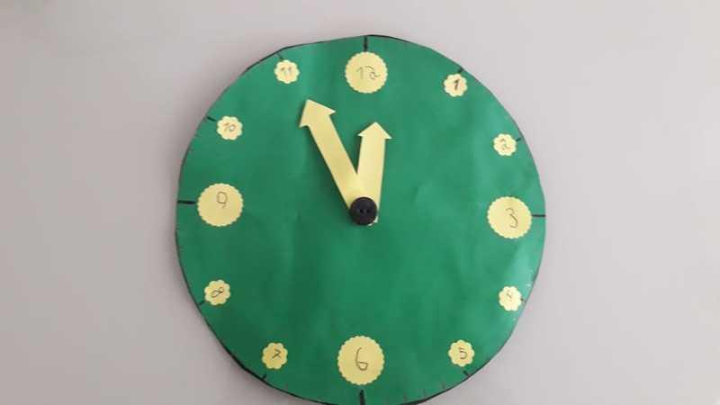 #SagradoEmCasa – Educandos dos 6ºs anos confeccionam relógios nas aulas de Matemática