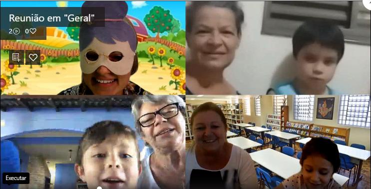 Dia dos Avós do Infantil V
