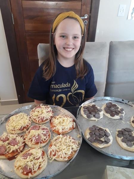 #SagradoEmCasa - Com leveza e alegria, educandos dos 4º anos aprenderam frações de forma deliciosa