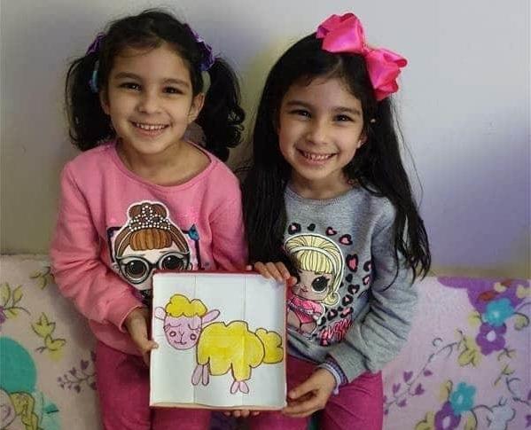 #SagradoEmCasa - Crianças criam quebra-cabeças com símbolos religiosos