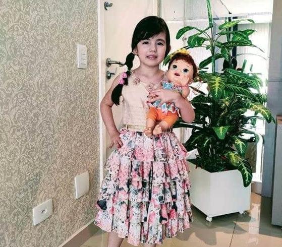 #SagradoEmCasa - Festa das Flores: Infantil V.1 participa de festa à fantasia em Live