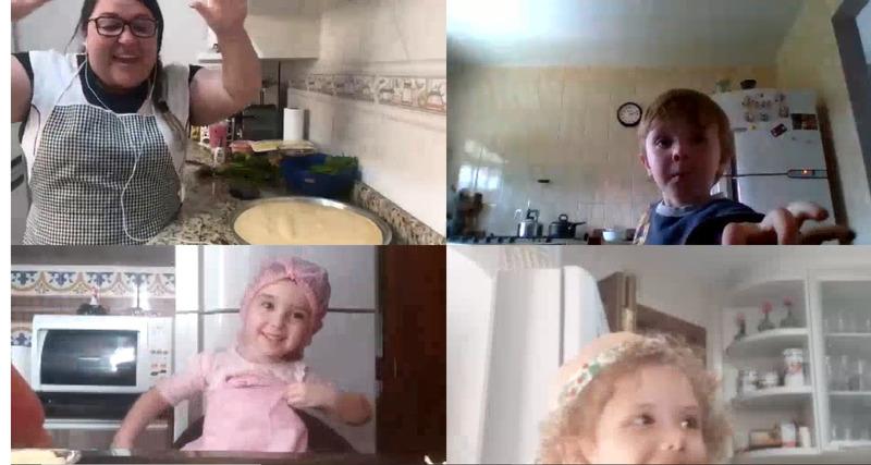 #SagradoEmCasa - Na cozinha com as plantinhas